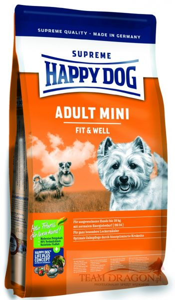 Happy Dog fit&well Adult MINI 4 kg
